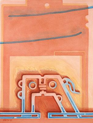 Die Utopie der Versöhnung, 1989, Gemälde: D. Losito
